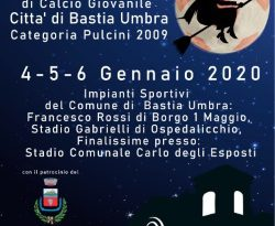 BeHappyFania – Torneo Interregionale di Calcio – Categoria 2009 – 4/5/6 Gennaio 2020 – Bastia Umbra